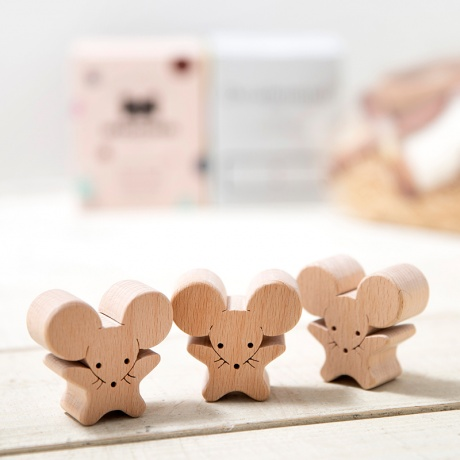 [cotohaオリジナル]御祝いネズミの出産祝い