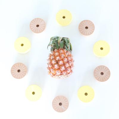 [kiko+(キコ)]だるまおとし Aloha pineapple