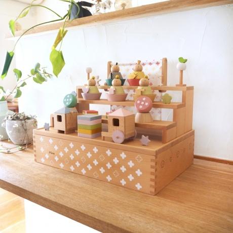 [puca(プーカ)]ひなまつり -HAKO-徳永鯉のぼり収納飾り