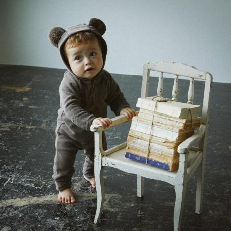 [MARLMARL(マールマール)]lullaby  bear smoke 80-90cm