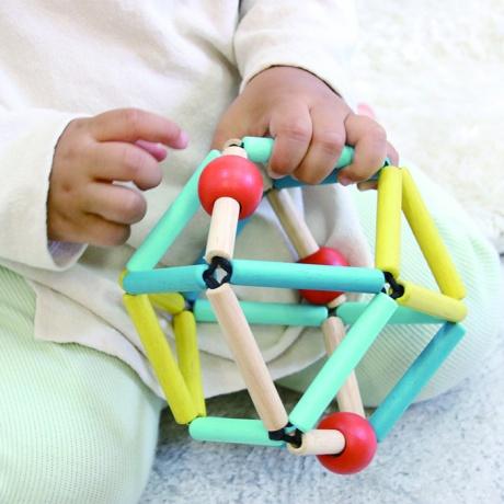 【エドインター】 GRABBER ラトル ベビー 木のおもちゃ