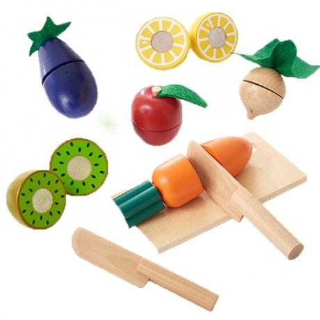 【エドインター】 いっしょにサクサク!おままごと おままごと 知育玩具 木のおもちゃ