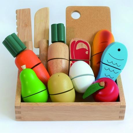 【エドインター】 First Little Chef おままごと 知育玩具 木のおもちゃ アルコール除菌OK