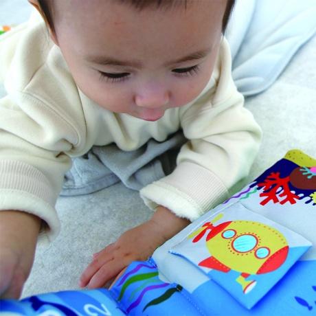 【エドインター】 WONDERLAND 絵本 布絵本 布のおもちゃ ベビー