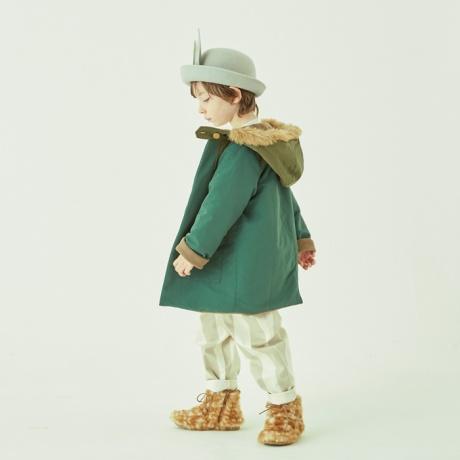 キッズ コート eLfinFolk エルフィンフォルク high lander coat コート120cm 130cm ベビー キッズ